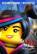 The LEGO Movie Poster Wyldstyle