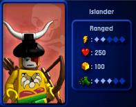 Islander battles