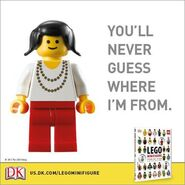 Minifigure Year by Year Promo DK 4