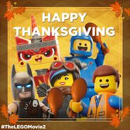 TheLegoMovie2 Thanksgiving