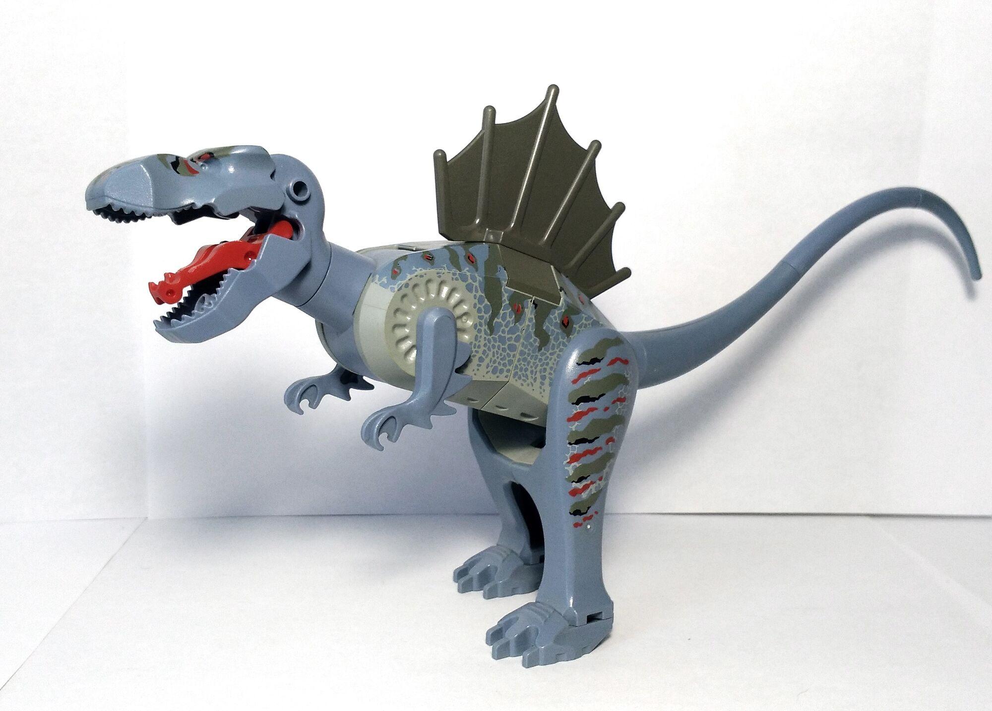 Spinosaurus brickipedia fandom powered by wikia - Lego dinosaurs spinosaurus ...