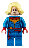 LEGO Captain Marvel 2020 (Alternate face)