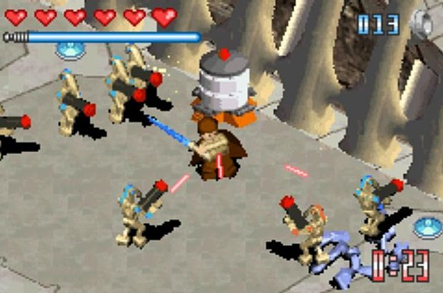 lego star wars: the video game (gameboy advance) | brickipedia