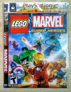 PS2 LEGO MARVEL