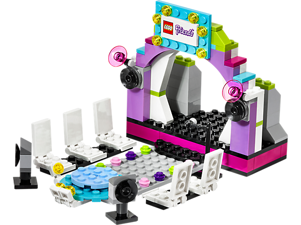 40112 le podium friends wiki lego fandom powered by wikia - Salon de coiffure lego friends ...