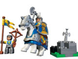 4775 Le chevalier et son écuyer