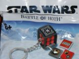 6012306 Battle of Hoth Dice Keychain