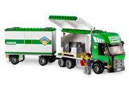 7733 Le camion et son chariot élévateur 2