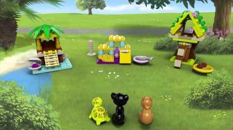 LEGO Friends Animals Squirrel, Cat and Turtle