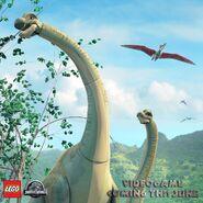 LEGO Jurassic World Brachiosaure
