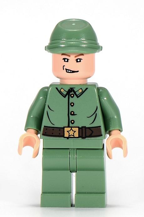 Kingdom Crystal Skull Russian Solider 3 7625 Lego Indiana Jones Minifigure