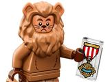 Lion peureux