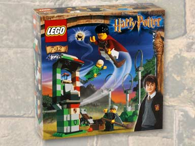 Lego Harry Potter INSTRUCTION BOOK FOR SET 4726 QUIDDITCH PRACTICE VERY NICE