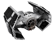75150 Vader's TIE Advanced vs. A-wing Starfighter 3