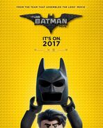 The LEGO Batman Movie Poster SDCC 2016