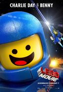 The LEGO Movie Poster Benny