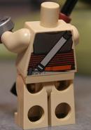 2012 Leia Organa Jabba back