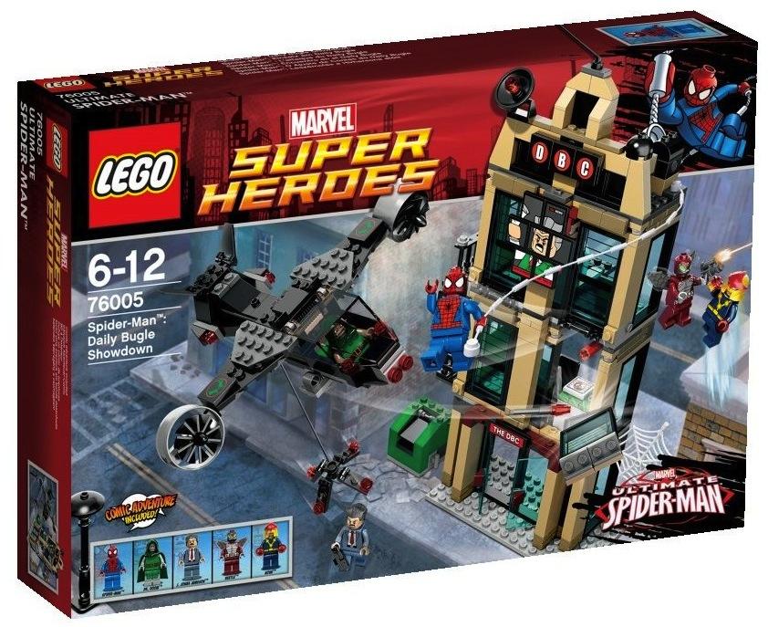 Review76005 Spider Man Daily Bugle Showdown Brickipedia Fandom