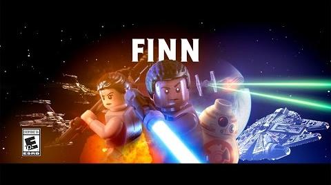 Finn Character Spotlight LEGO Star Wars The Force Awakens