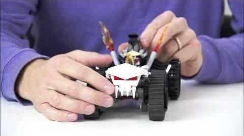 LEGO Ninjago - Turbo Shredder Designer Video