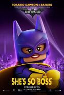 The LEGO Batman Movie Poster Personnage Batgirl