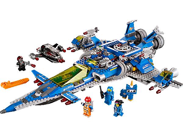 70816 le vaisseau spatial de benny wiki lego fandom powered by wikia. Black Bedroom Furniture Sets. Home Design Ideas