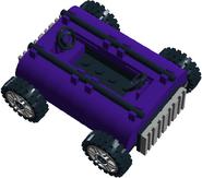 The Purple Backwards Tank 2