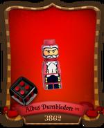 Carte Professeur Dumbledore-3862