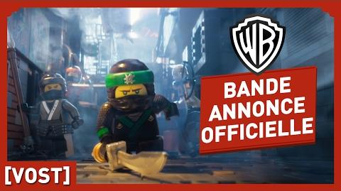 LEGO NINJAGO, Le Film - Bande Annonce Officielle (VOST)