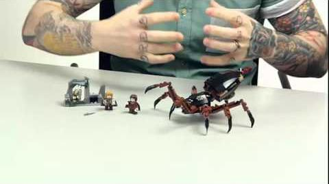 LEGO The Lord of the Rings - Shelob Attacks 2