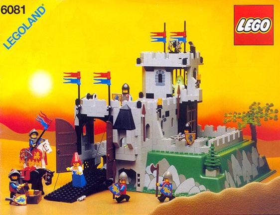 LEGO VINTAGE  MINIFIG  King/'s Mountain Fortress 6081
