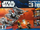 66395 Star Wars Super Pack 3 in 1
