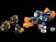 76123 Captain America et l'attaque des Outriders