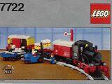 7722 Steam Cargo Train Set