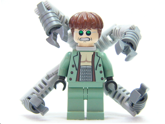 Lego Mini Robot with Tentacle Arms
