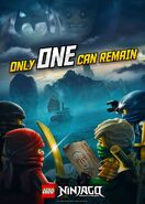 Poster Ninjago Only One Can Remain