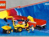 Railroad Tractor Flatbed 4543