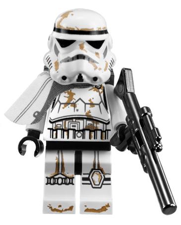LEGO Star Wars Minifigure Stormtrooper Sandtrooper 7659