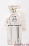 Evil White Stone Statue