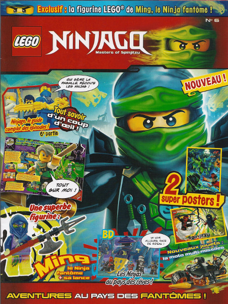 Lego ninjago 6 wiki lego fandom powered by wikia - Lego ninjago nouvelle saison ...