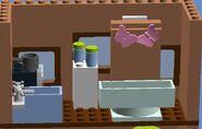 Slyvester and tweetie's house , floor 2