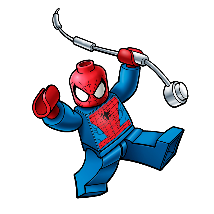Spider Man Peter Parker In The Lego Incredibles Videogame: Image - Box Art Spiderman.png