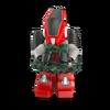 Compagnon robot rouge