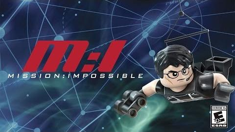 LEGO Dimensions Ethan Hunt Spotlight