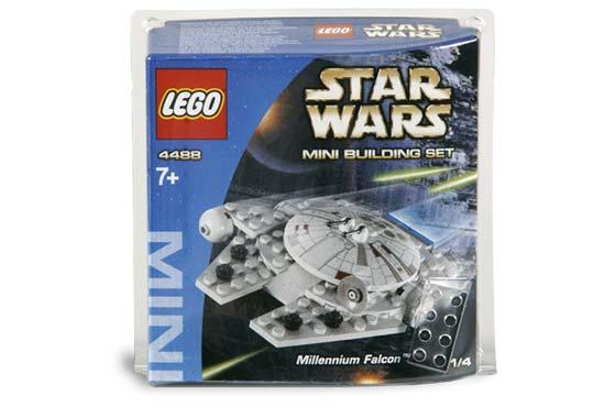 Lego Star Wars 4488 Mini Millennium Falcon Complete