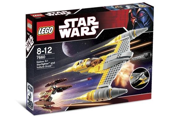 7660 Naboo N 1 Starfighter And Vulture Droid Brickipedia Fandom