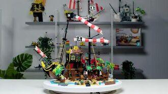 Pirates of Barracuda Bay LEGO Ideas Designer Video 21322
