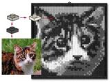 K34431 LEGO Mosaic Cat