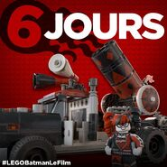 Vignette Batman Movie 6 jours