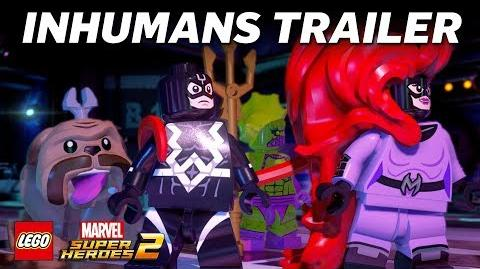 LEGO Marvel Super Heroes 2 Official Inhumans Trailer